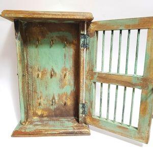 Key Holder Cage Wall Decor